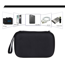 "Black Classic 2.5"" Hard Disk Case Cover Pouch EVA PU USB External WD HDD Drive Protect Storage Bag Enclosure Case Box(China)"