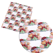 David accessories 50*145cm Christmas patchwork Polyester cotton fabric for Tissue Kids home textile for Sewing Tilda Doll,c3052(China)