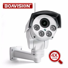 HI3516C+SONY IMX323 Wireless HD 1080P 960P Bullet Wifi PTZ IP Camera 4X Zoom Auto Focus 2.8-12mm 2MP Outdoor IR Onvif CamHi View(China)