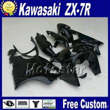 ABS fairings body kits for 1996 1997 2000 2003  KAWASAKI Ninja fairing   glossy black bodywork set ZX7R 96-01 02 03 with 7 gifts