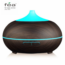 FEA Essential 300ML Oil Diffuser Air Humidifier Aroma Lamp Aromatherapy Electric Ultrasonic Aroma Diffuser Mist Maker