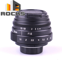Buy Suit Mini 35mm F1.6 APS-C Television TV Lens/CCTV Lens Suit 16mm C Mount Camera for $25.17 in AliExpress store