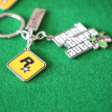 PS4 Xbox PC Rockstar Game GTA V Grand Theft Auto 5 Keychains For Men Fans(China)
