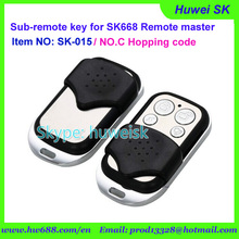 SK015 metal style Rolling code NO.C 434MHz copy remote, sub-remote key for digital counter, lock smith remote copy machine(China)