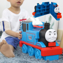 EFHH Thomas Small Locomotive Holding Box Plastic Children Suits Track Parking Lot Toys Gifts Hot Sale Portable Gift(China)