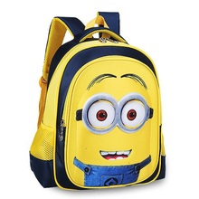 Cute Minions Children's Backpack Boys Animation Cartoon School Bags For Boys Girls Children Primary Students Backpacks LL260Z