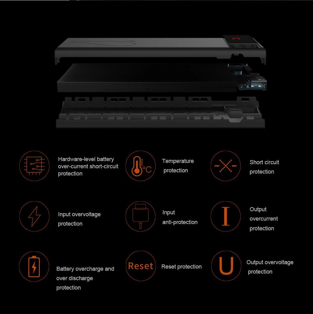ARUNJ120 Li-polymer Battery PowerBank12000mAh LED Lights External Battery 2 USB LCD Power Bank Portable Charger (8)