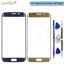 Buy S6Edge Touchscreen Panel Samsung Galaxy S6 Edge G925 G925F Touch Screen Sensor LCD Display Digitizer Glass Cover Replacement for $9.30 in AliExpress store