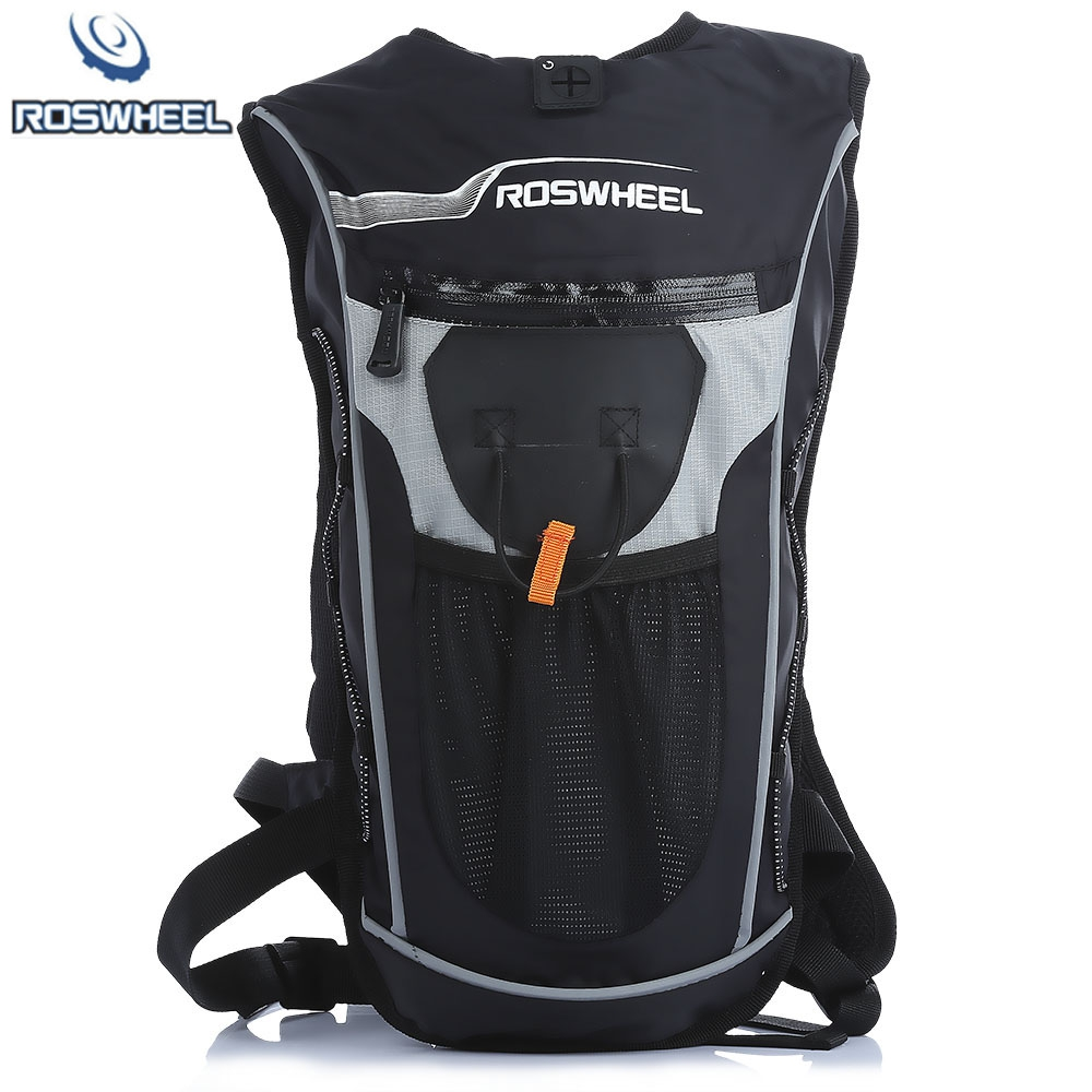 ROSWHEEL 4L Bike Hiking Camping Cycling Backpack Hydration Backpack Ultralight Multifunctional Bicycle Bag with Water Bag<br>