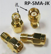 RF SMA Type Connector RP-SMA-JK SMA to JK Female Reverse,Coaxial connector wireless router Antenna New and original 3pcs/lot(China)