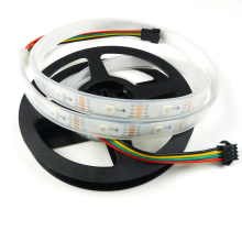 1M DC5V APA102 30Pixels/m Smart LED Pixel Strip DATA and CLOCK Seperately White/Black PCB 30LEDs/M IP67(China)