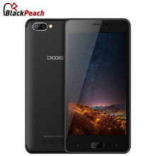 DOOGEE X20 Dual Rear Camera Mobile Phone 5.0 Inch HD MTK6580 Quad Core Android 7.0 2GB RAM 16GB ROM Dual SIM Card 3G Cellphone(China)