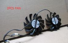Computer Cooler Fan 75MM FirstD FD7010H12S Power / Logic PLD08010S12HH DC 12V 4 Wire For ASUS MSI R6790 Twin Frozr II Video Card