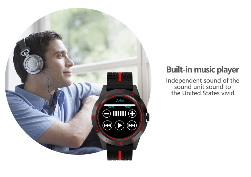 MICORSAX Men Smartwatches M6 Business Watch Bluetooth Phone Heart Rate Smart Bracelet with  MP3 Pedometer Sport Fitness Tracker
