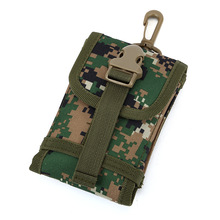 Military Molle Hook Loop Phone Bags Holder For LG G6 V20 V10 G3 G4 G5 K10 K8 K7 K5 K4 2017 Camouflage Belt Pouch Wallet Case