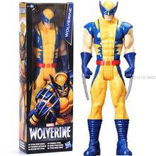 "12""30CM Super Hero X men Wolverine Spiderman Spider man Action Figure Doll Classic Model Marvel Toy As Gift PVC Free Shipping(China)"