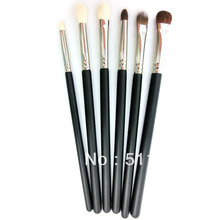 Eyes kit Wholesale Makeup Brush Cosmetic Set Kit Black Makeup Eyeshadow Brush set Free Shipping(China)