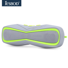 Jesbod j17 sports bluetooth speaker IPX7 waterproof design portable wireless loudspeaker sound system 3D stereo music surround(China)