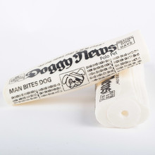 vinyl dog toy news paper for pet dog playing
