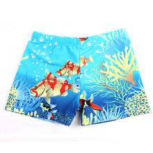 1PCS Summer Diving Swim Wear Cartoon Printed Toddler Baby Kid Child Swimming Trunks Swimsuit Beach Swimwear Shorts For 2-5T Boys