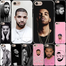 Drake Canada Hard White Cover Case for iPhone 7 7 Plus 6 6S Plus 5 5S SE 4 4S