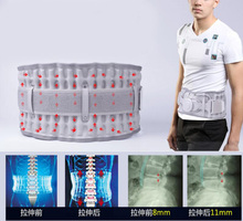 Medical Lumbar Disc Herniation Massager Back Belt Spinal Air Traction Decompression Brace Pain Lower Lumbar Support(China)