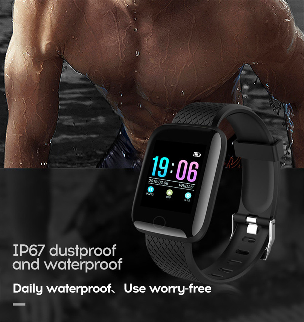 13-130435- Smart Watch Men Blood Pressure Waterproof Smartwatch Women Heart Rate Monitor Fitness Tracker Watch GPS Sport For Android IOS