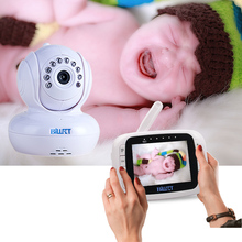 Night Vision Video Baby Monitor JLT-8035 Video Nanny Baby Phone with Camera and Monitor Pan PTZ Tilt Remote Monitoring Camera