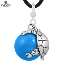 Angel Caller Locket cage Pendant Mexican Bola Ball Turtle Sounds Mother Child Pendant Pregnancy Engelsrufer baby Jewelry Gift