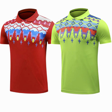 Sportswear Quick Dry breathable badminton shirt,Women/Men table tennis team game running golf Polo short sleeve T Shirts(China)