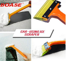 New TPE car snow shovel winter ice scraper hand tools auto snow removal snow ice brush for shovels car accessories