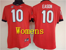 Free Shipping Nike Womens Georgia Bulldogs EASON #10 CHUBB#27 WALKER #34 GURLEYII #3 Boxing Jerseys(China)