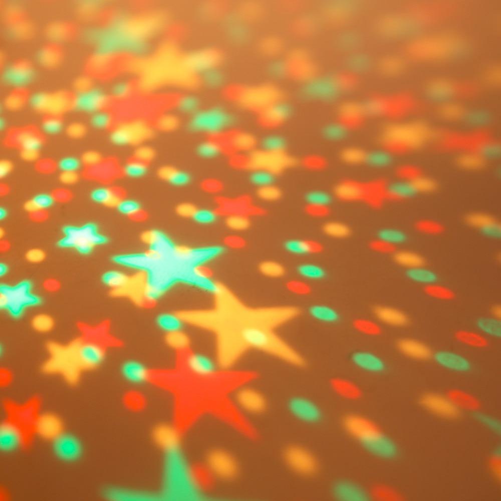 Amazing LED Rotation Night Sky Projector