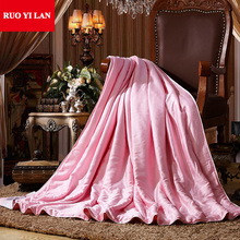 100% Modal Jacuard Inner Duvet Cover for DIY Silk Quilt Soft Smooth Good Quality Full Queen King Pink Jade 03