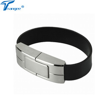 Trangee Leather Bracelet USB Flash Drive Pendrive 4GB 8GB 16GB 32GB USB 2.0 Flash Memory Sticks Wristband Pen Drive