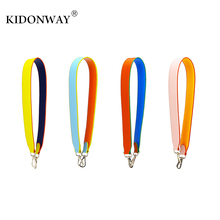 KIDONWAY Fashion Designer Strap you handbags belts women bags strap women bag accessory bags parts PU leather shoulder bag belts