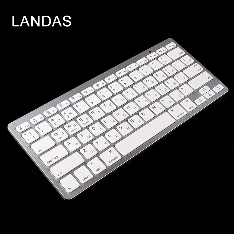 1 Wireless Bluetooth Keyboard Russian