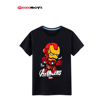 GODODOMAOYI 2016 hots Kids Baby children Super hero Custom tops T Shirt Captain t shirt boys Summer short sleeve clothes Cartoon