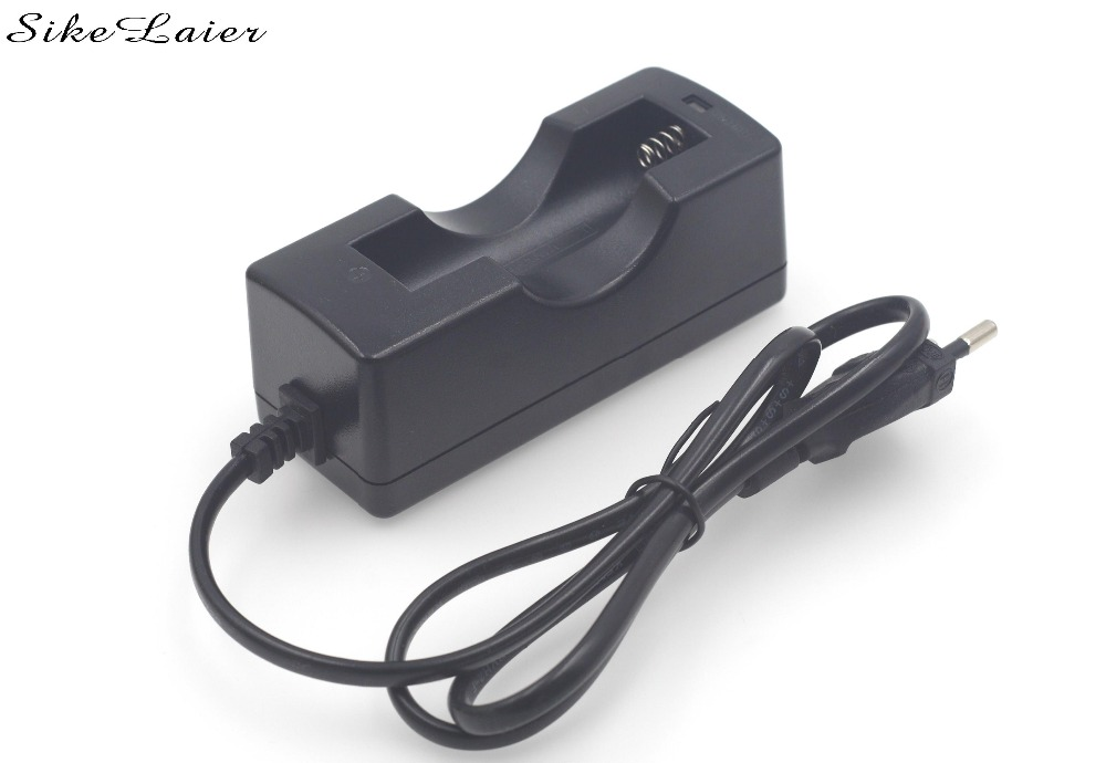 US / EU 4.2 At 18650 14500 16430 charger electronic cigarette charger lithium battery single charge intelligent prevent
