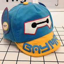 Valink 2017 New Fashion Cute Children Animal Baseball Caps Boys Girls Cap Kids Summer Sun Hat Wholesale