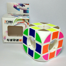 Brand New ZCUBE Rounded Void Pillowed 3x3x3 Cube Black/white On Stock Speed Cube Cubo Magico Educational Toys Magic Cube Puzzle(China)