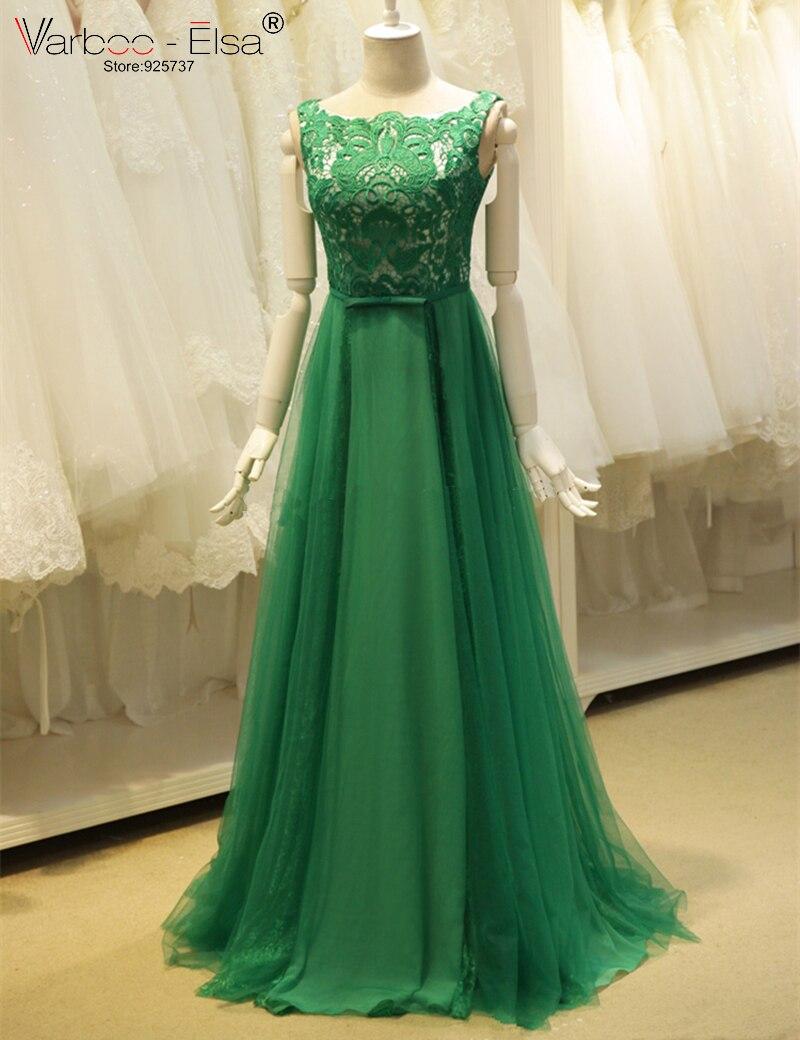 Vestidos Elegantes Largos Verdes