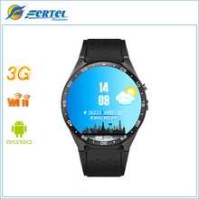 KW88 Smart Watch Android 5.1 512MB + 4GB bluetooth 4.0 WIFI 3G Wristwatch Support Google Voice GPS Map wearable  smart watch