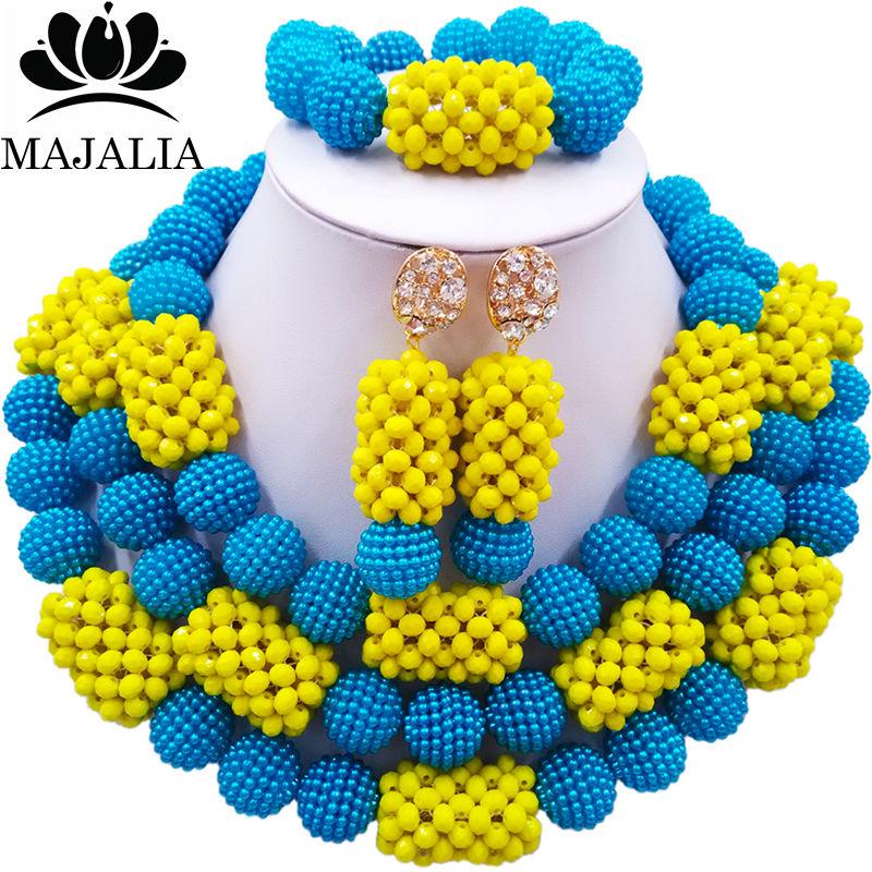 01 African Beads Jewelry Set (8)