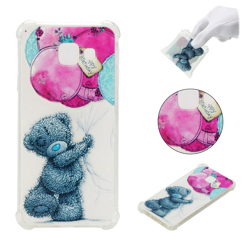 Case For Samsung Galaxy A3 A5 A7 J1 J3 J5 J7 2015 2016 2017 Prime J4 J6 A8 Plus J2 Pro 2018 Cover Bags Painted Soft Silicone
