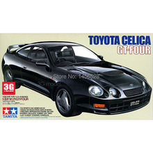 MOHS scale models 24133 1/24 scale car CELICA GT-FOUR assembly model building kit plastic scale motocycle car model kits(China)