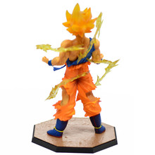 Dragon Ball Action Figure Models PVC Hot sale Super Saiyan Goku Son Gokou Models with Retail Box For Best Birthday Gift