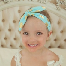 Buy Naturalwell Children girls headbands Baby cute rabbit ear soft cotton headwraps hair accessories Kids bow hair bands HB059 for $1.02 in AliExpress store