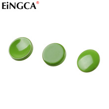 3 Pieces Green Flat Concave Convex Stylish Camera Shutter Release Button Metal for Fujifilm X100 X100T X10 X30 X-Pro1 M8 M9(China)