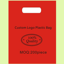 Custom Logo Plastic Bags30x40cm pack of 200 Fashion Jewelry Scraf Glasses small item Handing shopping pouch
